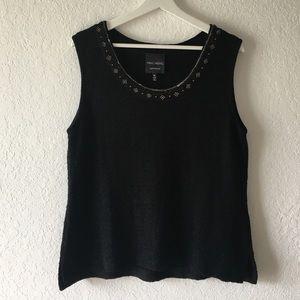 Ming Wang Saphire Knit Top size XL